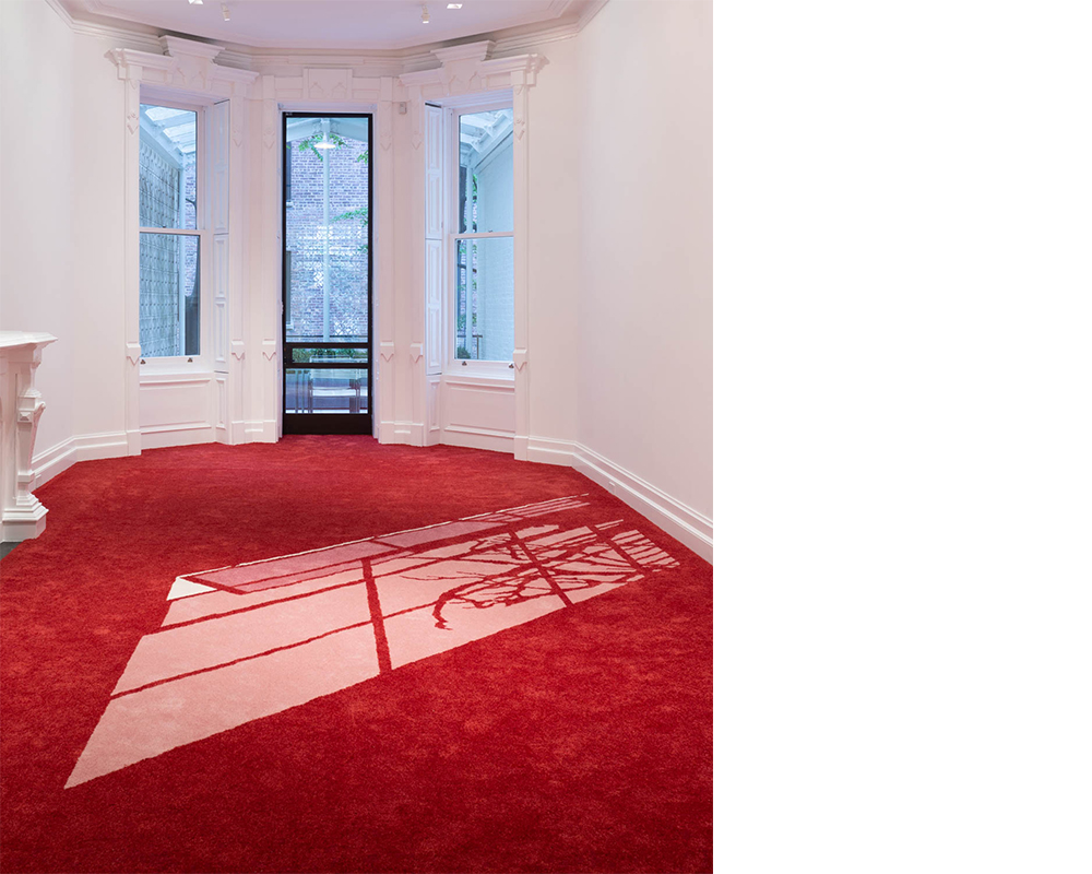 Philippe Parreno<div><i>6.00 PM,</i> 2000 – 2006</div><div>Carpet</div><div>Dimensions variable</div>