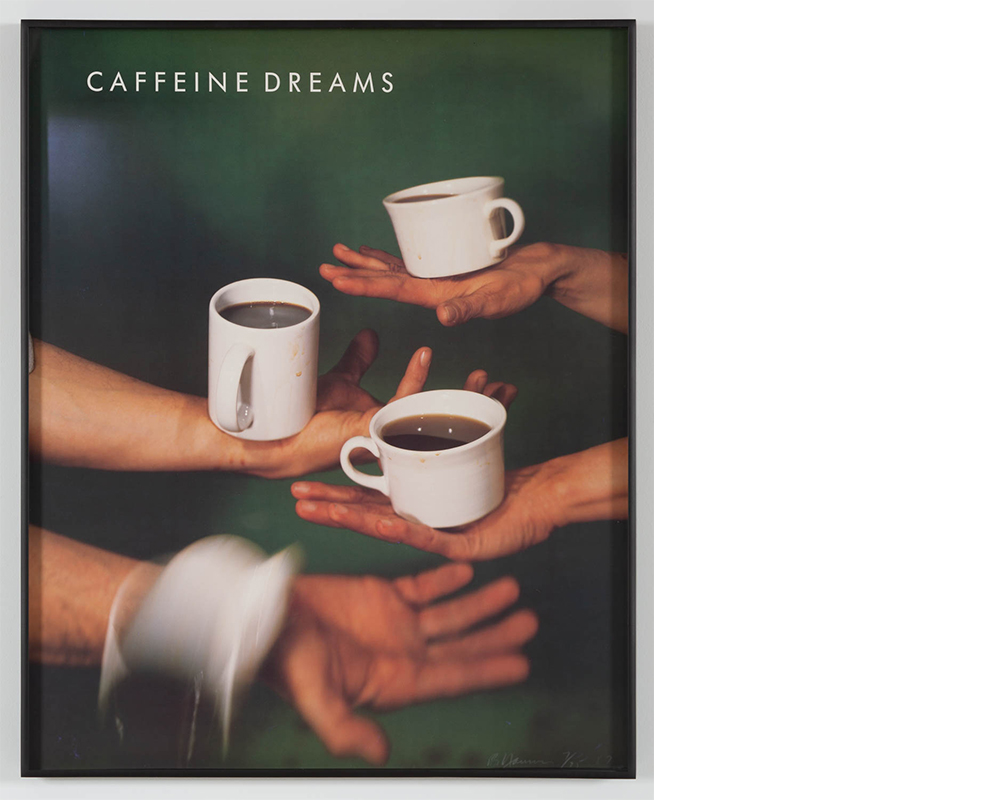 Bruce Nauman<div><i>Caffeine Dreams,</i> 1987</div><div>Offset lithograph</div><div>29 5/8 x 24 inches (75.2 x 61 cm)</div>
